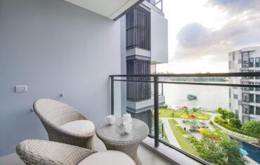 Апартаменты с 1 спальней в 200 метрах от моря в Cassia Residences