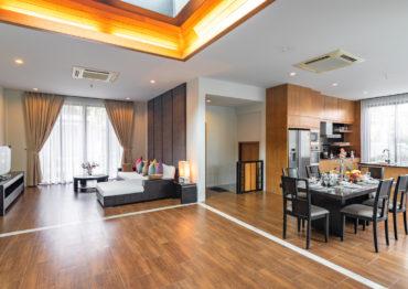 Вилла с 3 спальнями в охраняемом комплексе Baan Bua