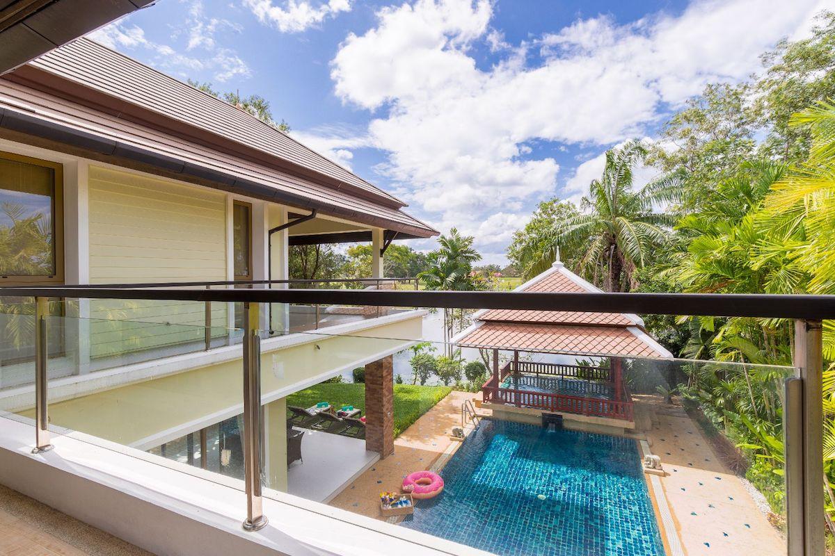 Laguna Homes - вид из балкона