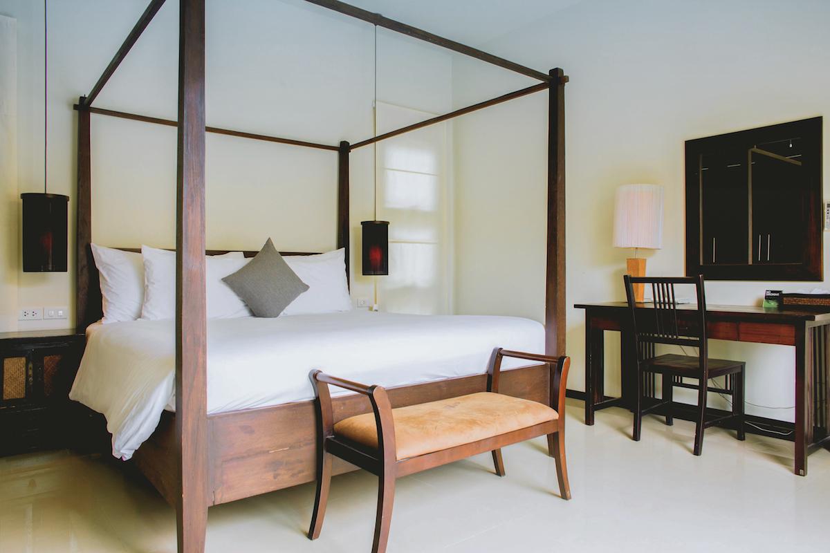 Two Villas Oriental Layan - главная спальня