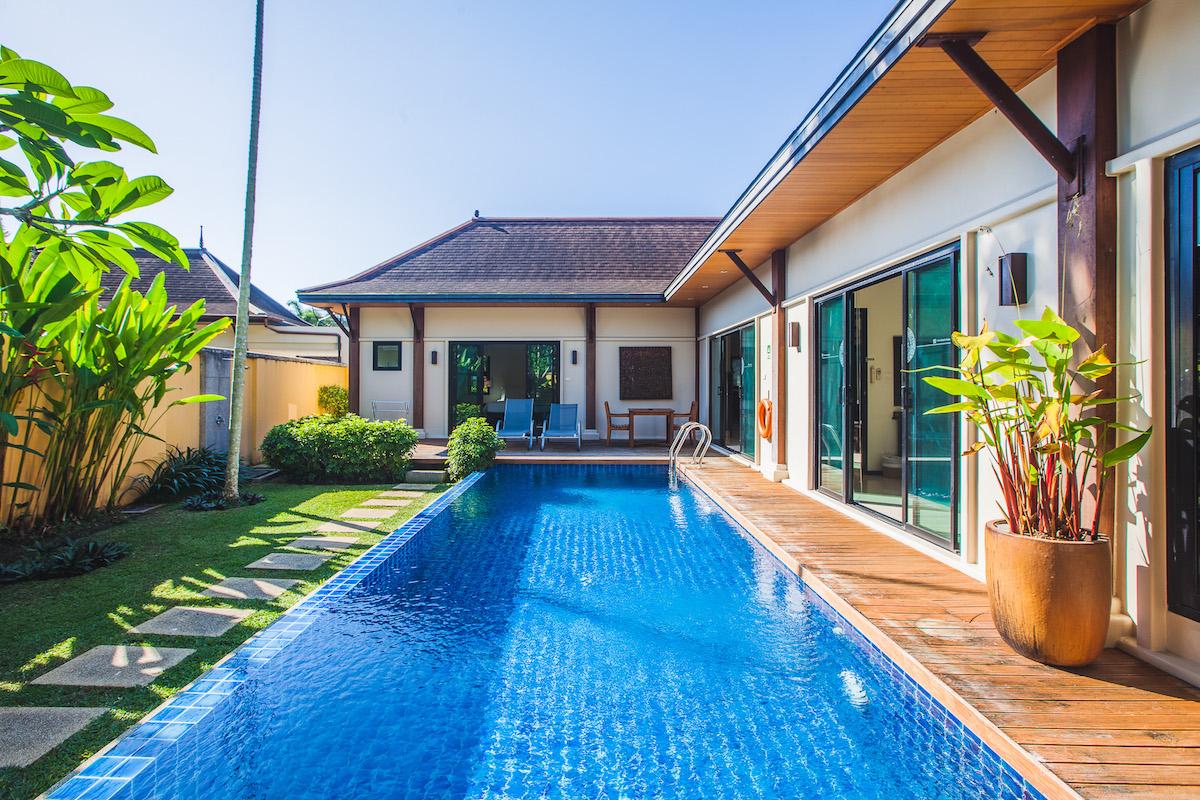 Two Villas Oriental Layan - личный бассейн