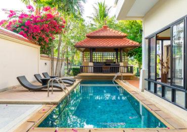Вилла c личным бассейном в Laguna Village