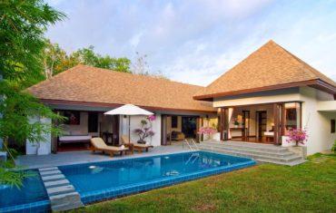 Вилла c двумя спальнями и личным садом в Suksan Rawai