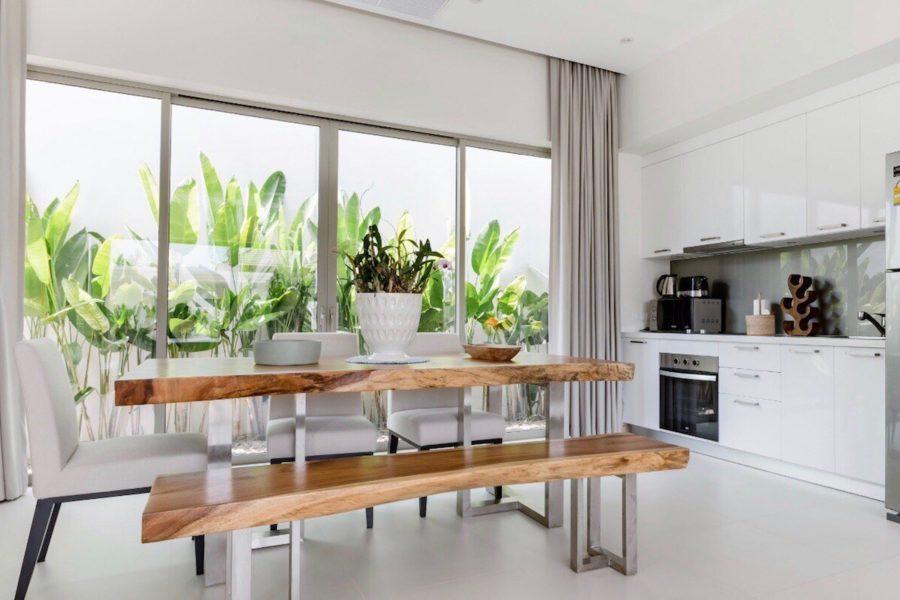 Trichada Tropical - кухонная зона