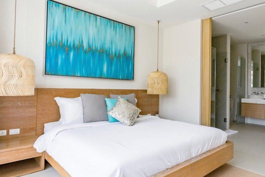 Trichada Tropical - главная спальня