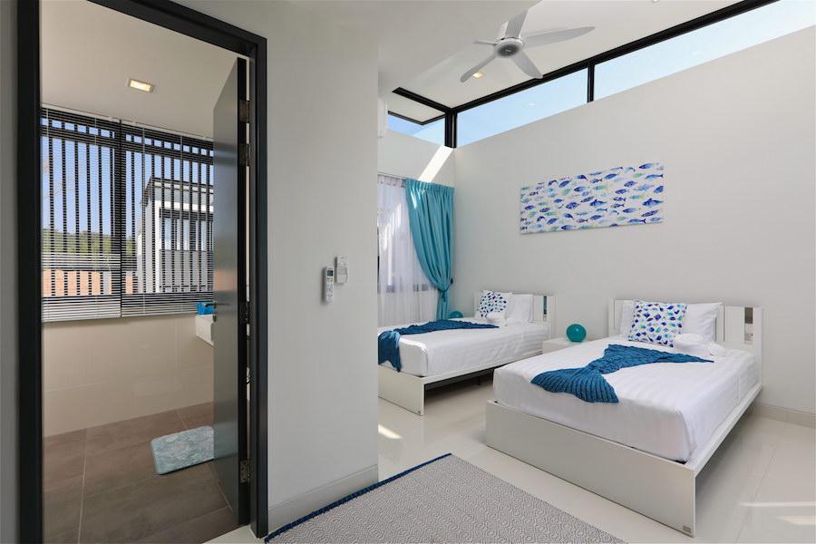 Спальня с выходом на крышу - Laguna Park 2