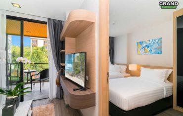 Апартаменты с 1 спальней в Vip Kata 1
