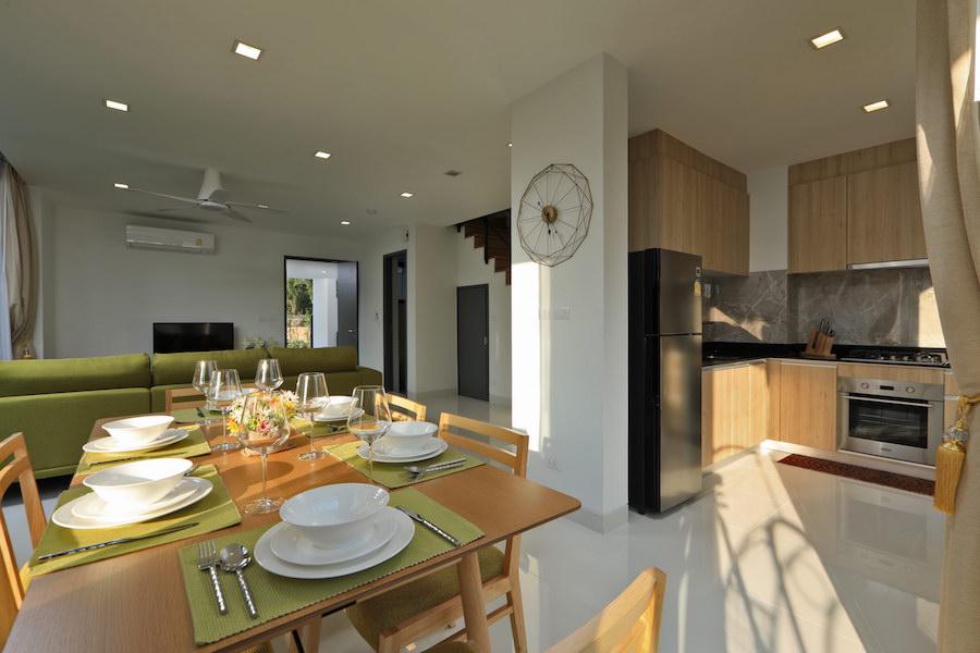 Столовая и кухонная зона - Laguna Park 2